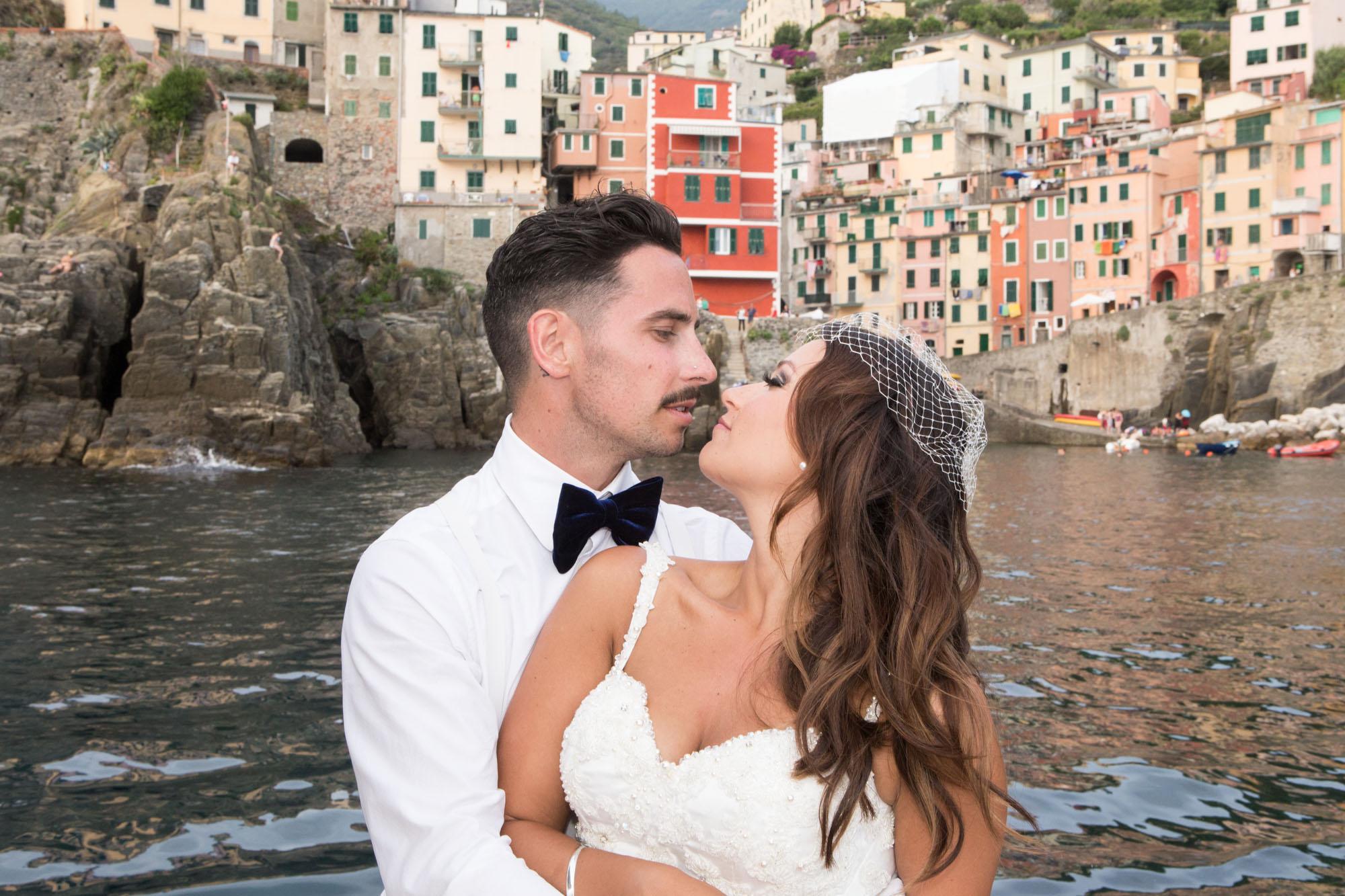 cinque terre wedding - Sabrina and Jarrad
