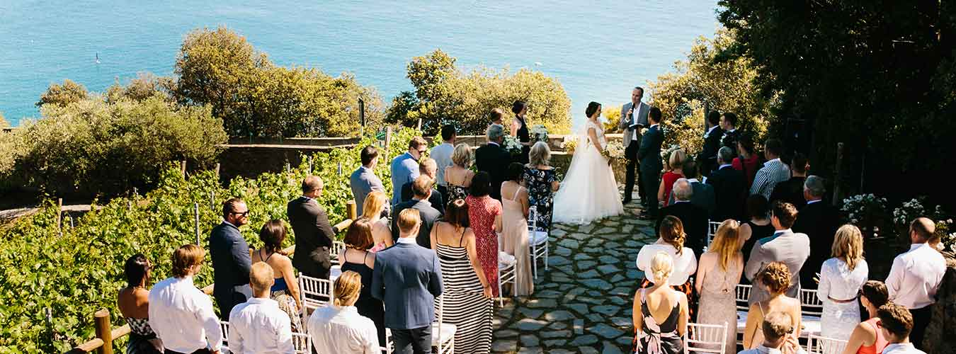 Enjoy A Real Wedding Feature Of Symbolic Ceremony Held In The Cinque Terre Here