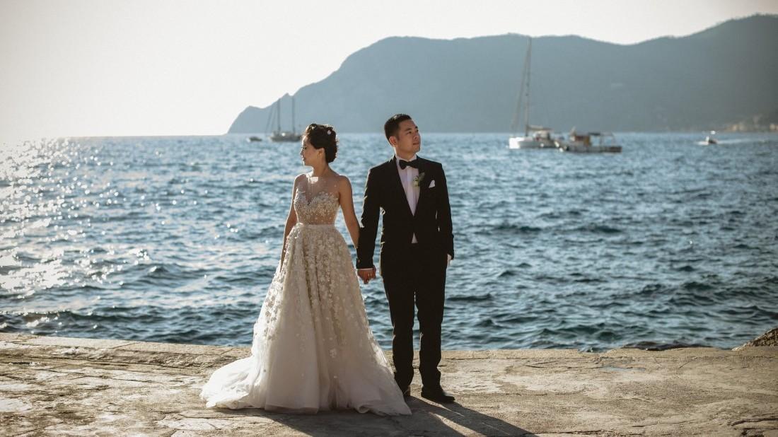 waterfront destination wedding
