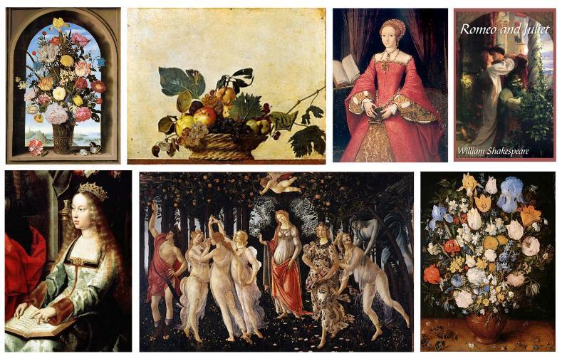 Renaissance Inspiration Board