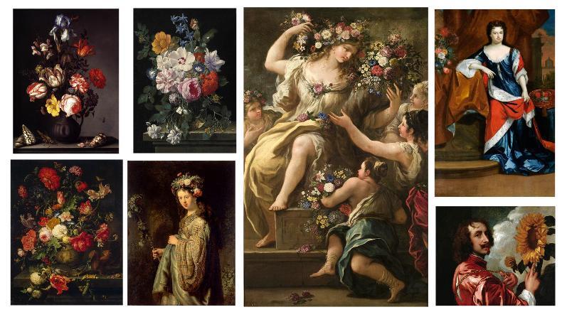 Modern Baroque Flower Design