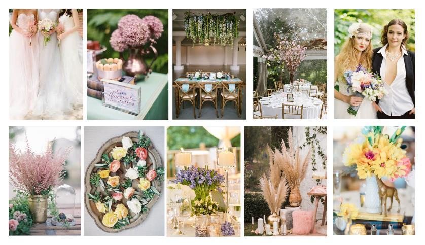 wedding flower 2018