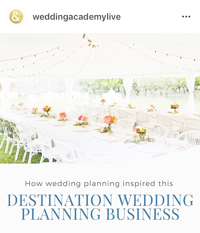 Why we love destination wedding planning wedding academy for Plan a destination wedding