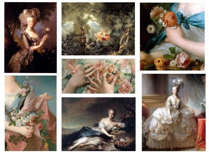 Rococo Wedding Flower Design