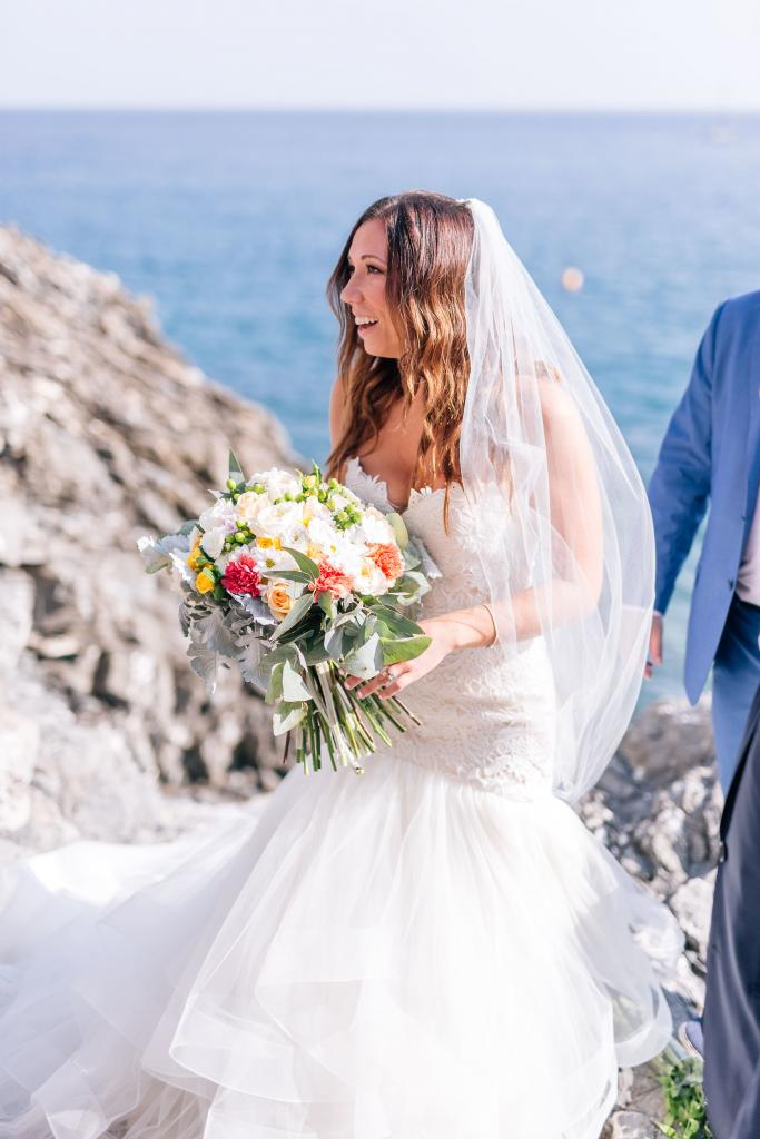 italian seaside wedding