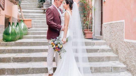 Love Story real wedding cinque terre
